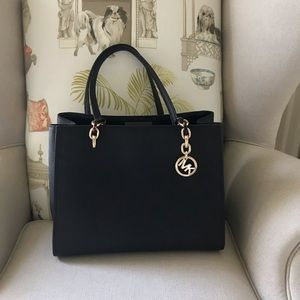 Michael Kors  Black Purse with Chain